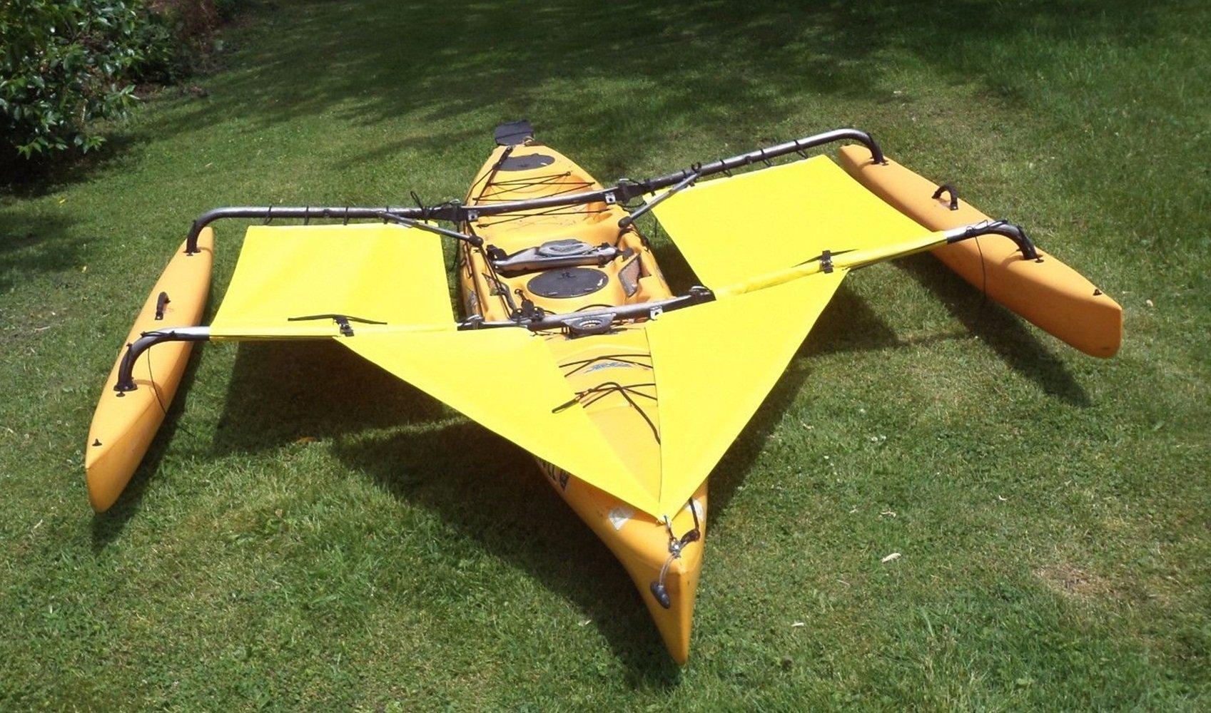 Hobie Kayak Trampoline yellow Adventure Tandem & splash shield set