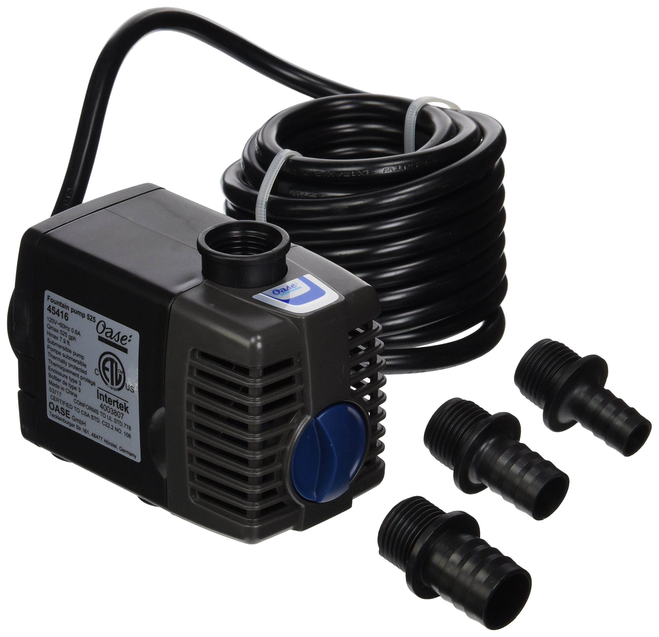 OASE 45416 525 gallon/hr Fountain Pump