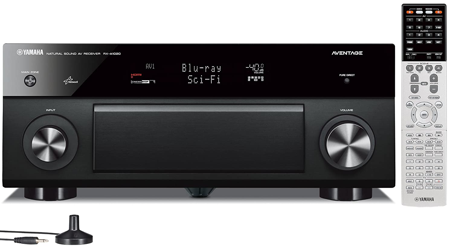 amazon com: yamaha rx-a1020 7 2-channel network aventage av receiver  (discontinued by manufacturer): electronics
