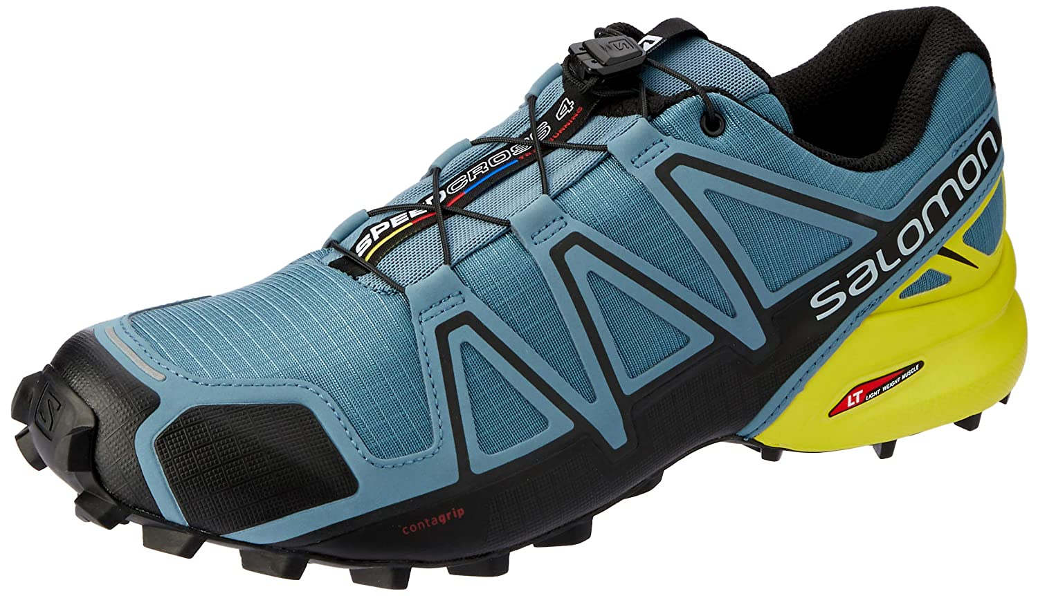 Salomon Men s Speedcross 4 Trail Running Shoes  Amazon.co.uk  Shoes   Bags 166b947ed7