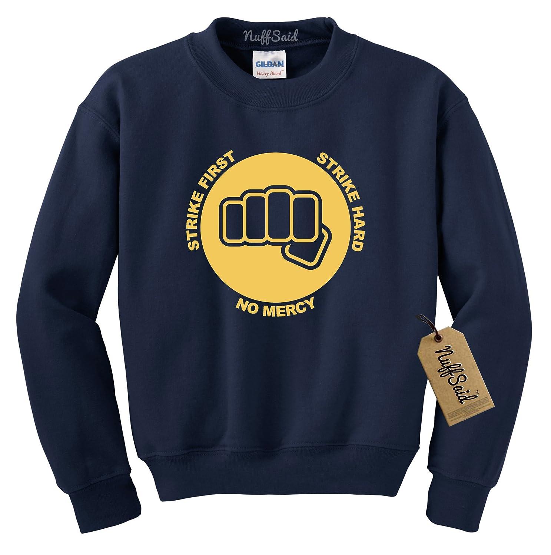 NuffSaid Cobra Kai Fist Premium Crewneck Sweatshirt Karate Kid Unisex Crew