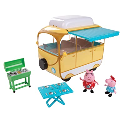 Peppa Pig Family Campervan Large Vehicle: Toys & Games