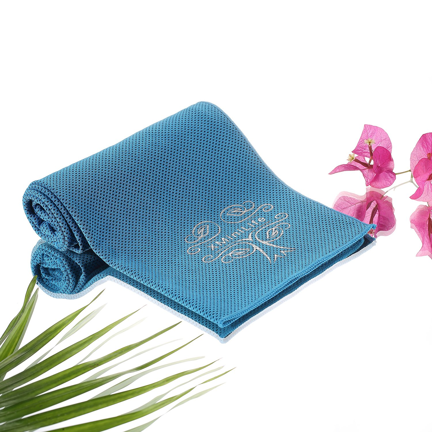 XMiniLife Microfiber Cooling Towel for Men and Women Football Outdoor Sports Running Hiking Gym Yoga Pilates Travel Camping Fitness