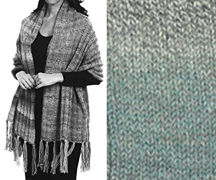 Amazon Prayer Shawl Knit Kit In Encore Worsted Colorspun Yarn