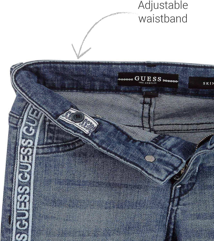 Guess Jeans Denim Dritti Blu Bambina Ragazza