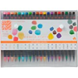 Akashiya Sai Watercolor Brush Pen - 20 Color Set (japan import)