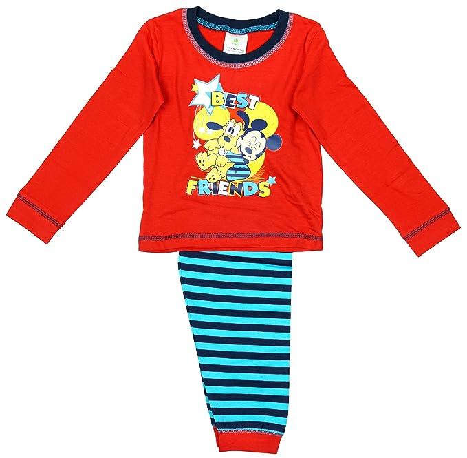 Niño Bebé bebé Mickey Mouse & Goofy Best Friends Pijama rallas desde 6 a 24 Meses