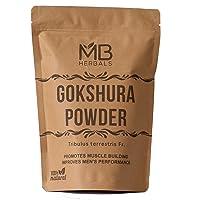 MB Herbals Gokshura Powder 100g   3.5 oz   Tribulus terrestris   Small Caltrops ...