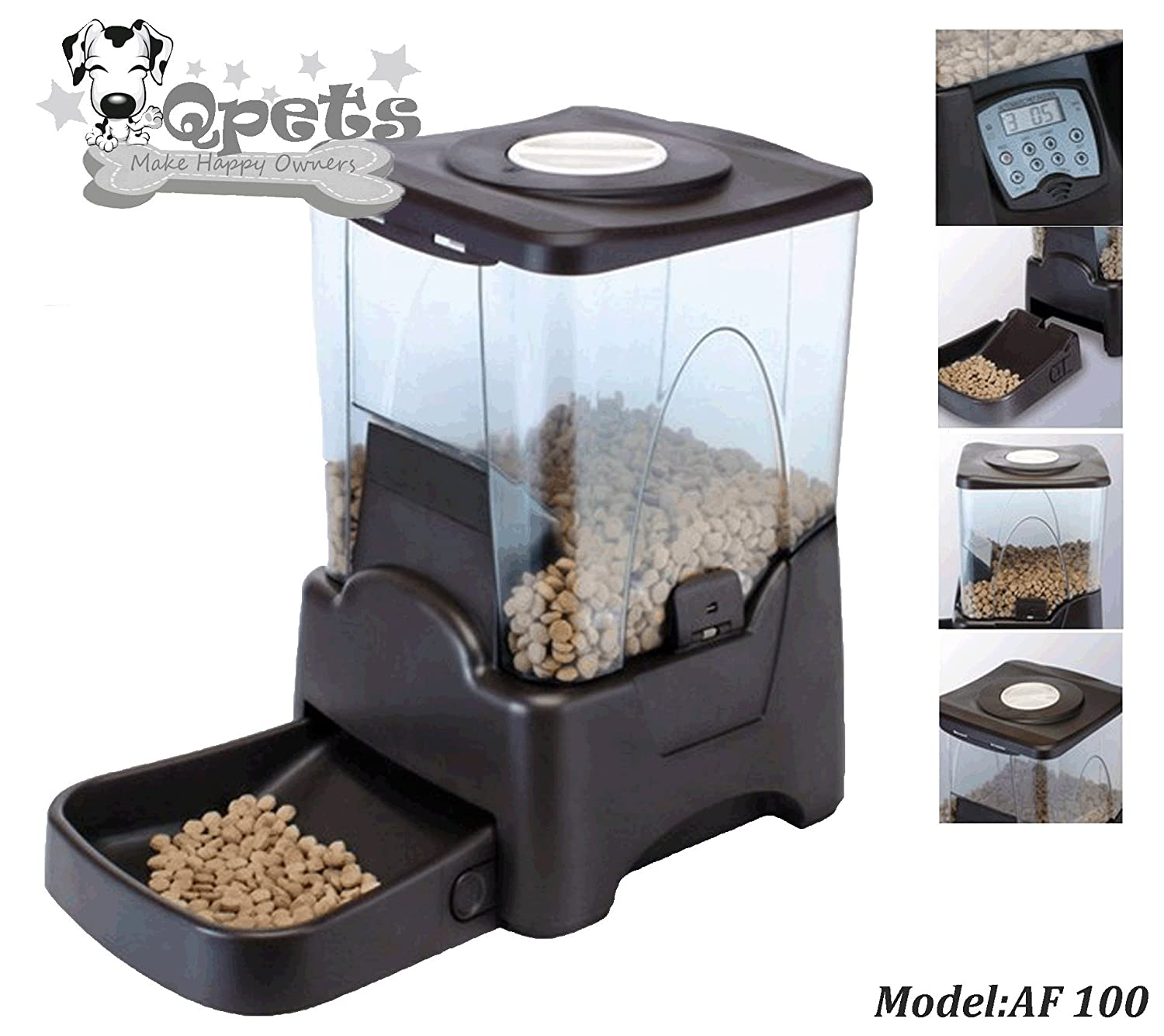 Pet Supplies Qpets Petself Electronic Feeder up to Cups