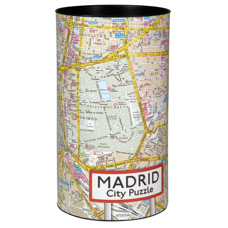 Madrid City puzzle 500 Teile, 48 x 36 cm: Amazon.es: Libros en idiomas extranjeros