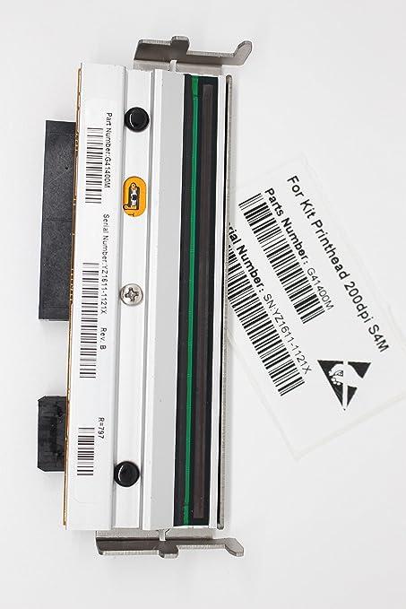 Thermal Print Head Printhead for Zebra S4M Barcode Printer 203dpi G41400M  Print Head