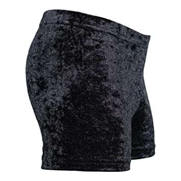 122 bis 164 gecrasht schwarz Hotpants Shorty Turnhose NEU von Gr