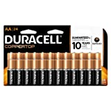 Amazon Price History for:Duracell Coppertop Alkaline Aa, 24 Count