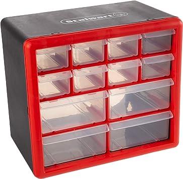12 Compartment Small Plastic Storage Box