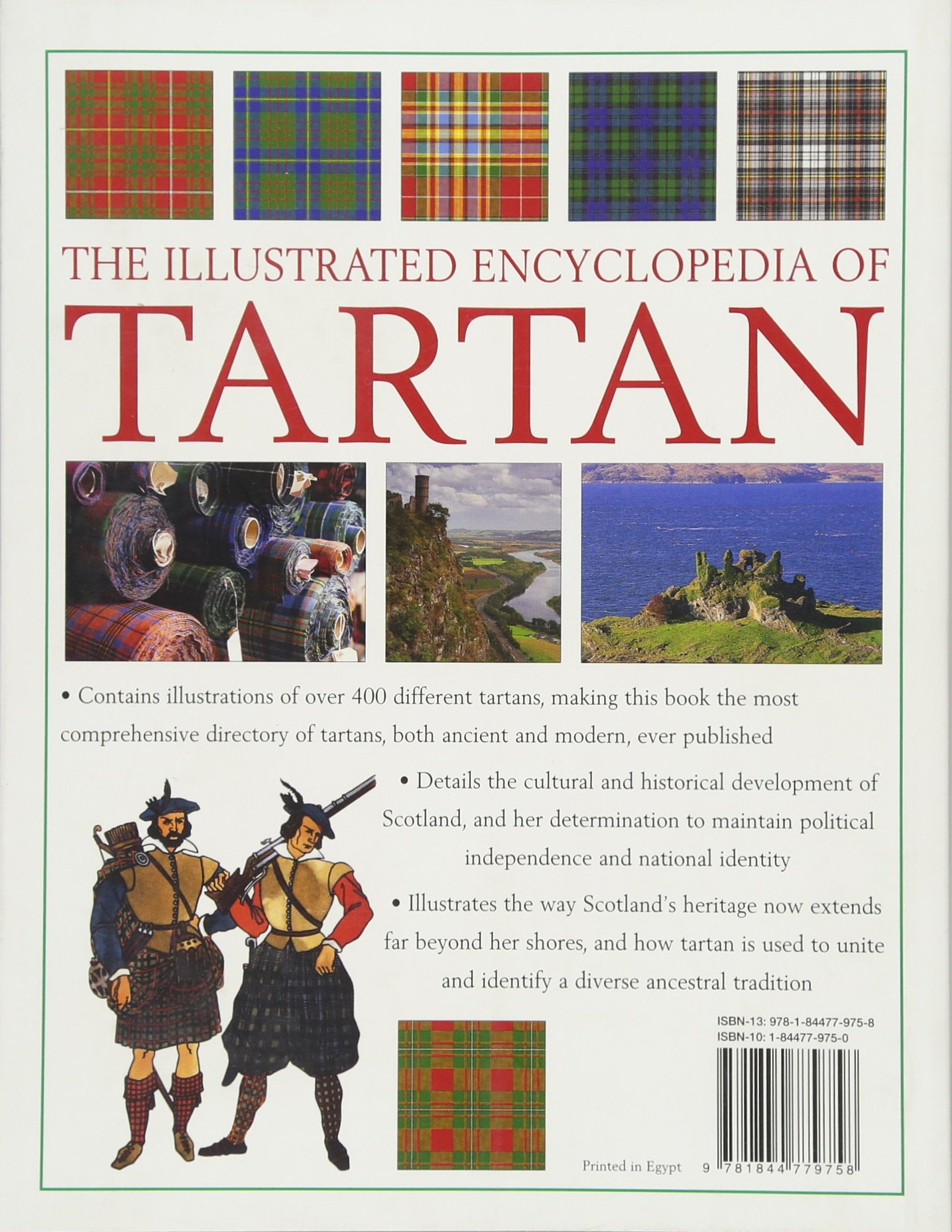 e263112741fe Amazon.fr - The Illustrated Encyclopedia of Tartan  A Complete History and  Visual Guide to over 400 Famous Tartans - Iain Zaczek, Charles Phillips -  Livres