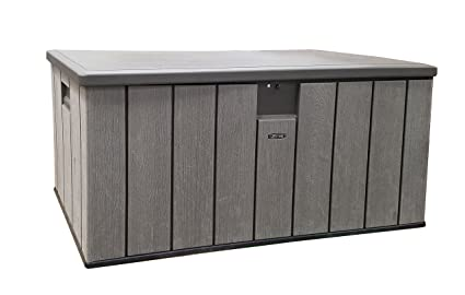 Superieur Life Time Resin Deck Box 150 Gallon Outdoor Storage Unit