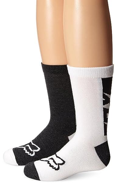 Fox – Calcetines de corredor para mujer Negro negro