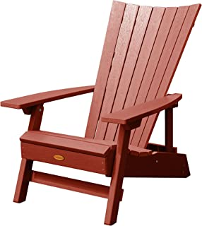 product image for highwood AD-ADRID29A-RED Manhattan Beach Adirondack Chair, Rustic Red