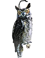 Esschert Design FB142 Owl Scare Crows Decoy New