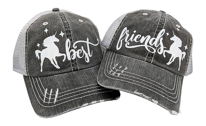 0d3eb7282 Loaded Lids Women's Best Friends Bling Baseball Cap Bundle with ...