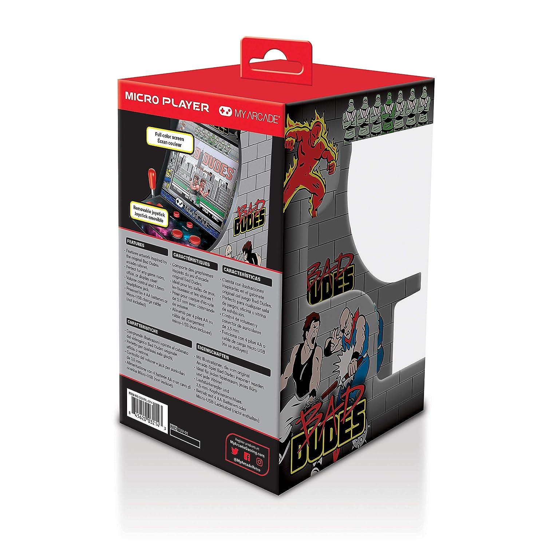 My Arcade Bad Dudes Micro Arcade Machine: Amazon.es: Videojuegos