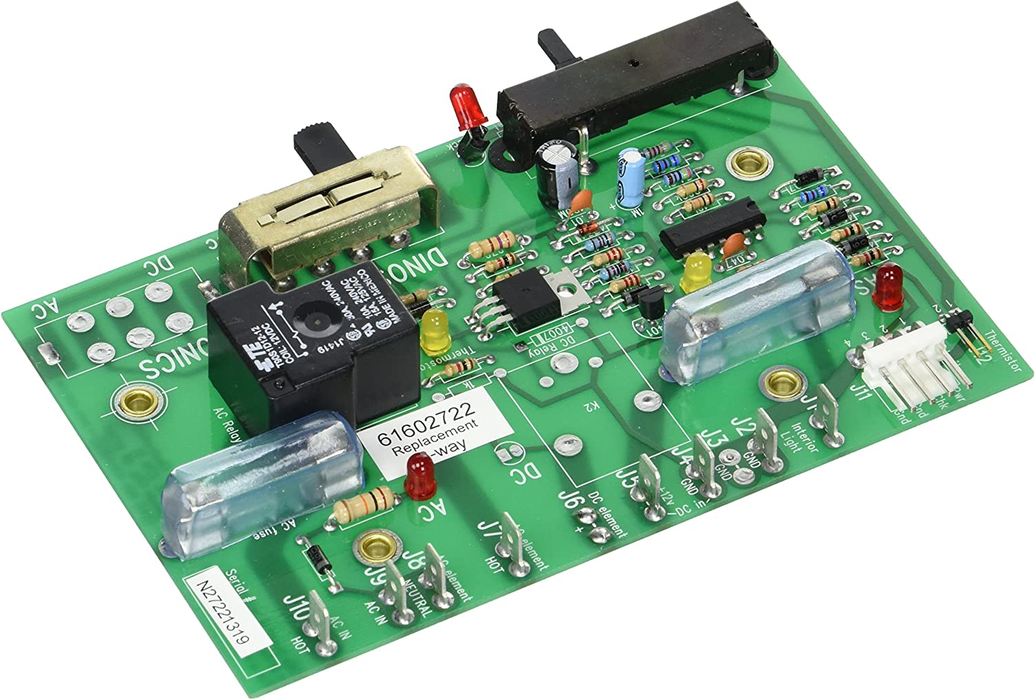 Dinosaur Electronics 61602722 Replacement Board for Norcold Refrigerator