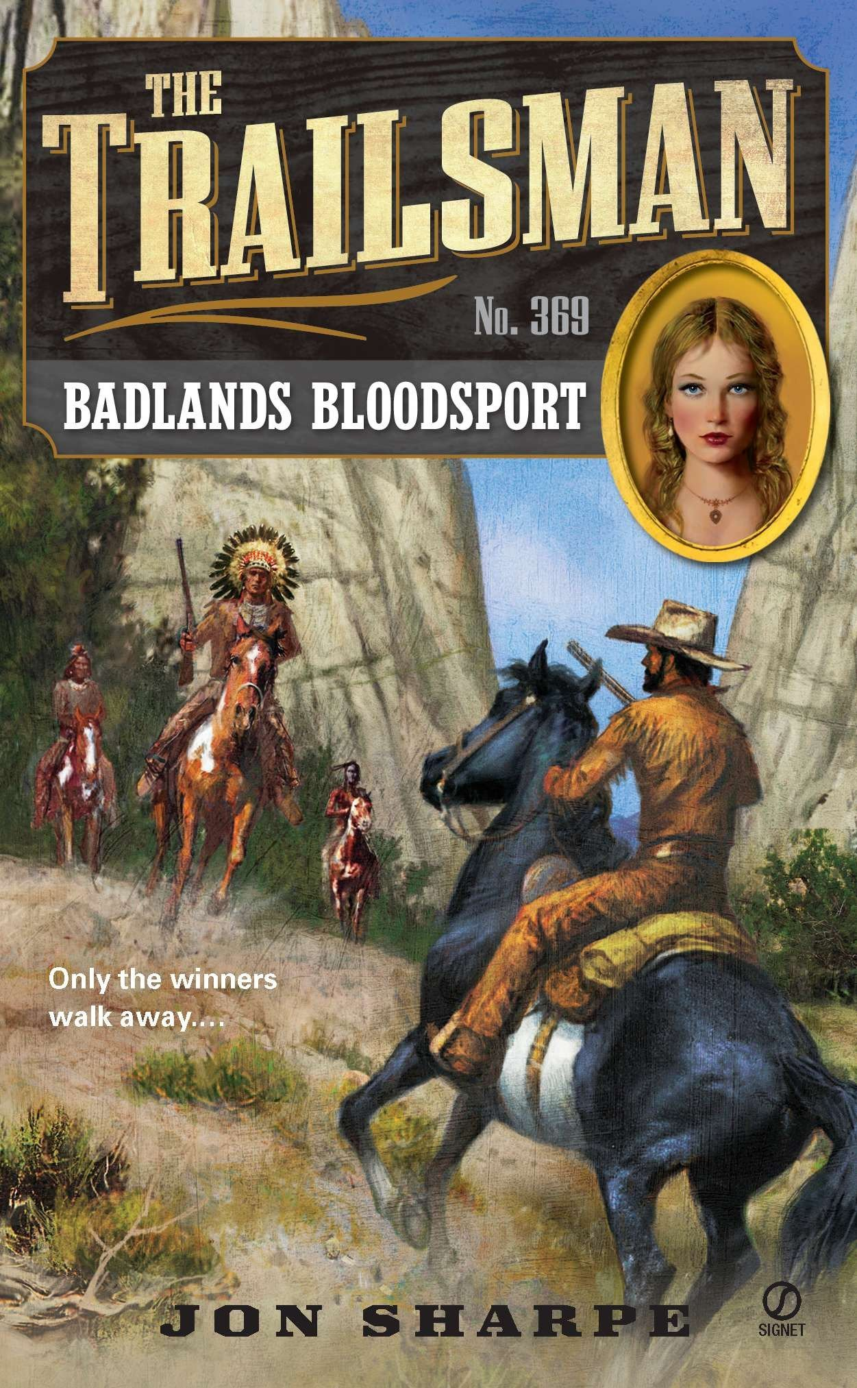Download The Trailsman #369: Badlands Bloodsport PDF