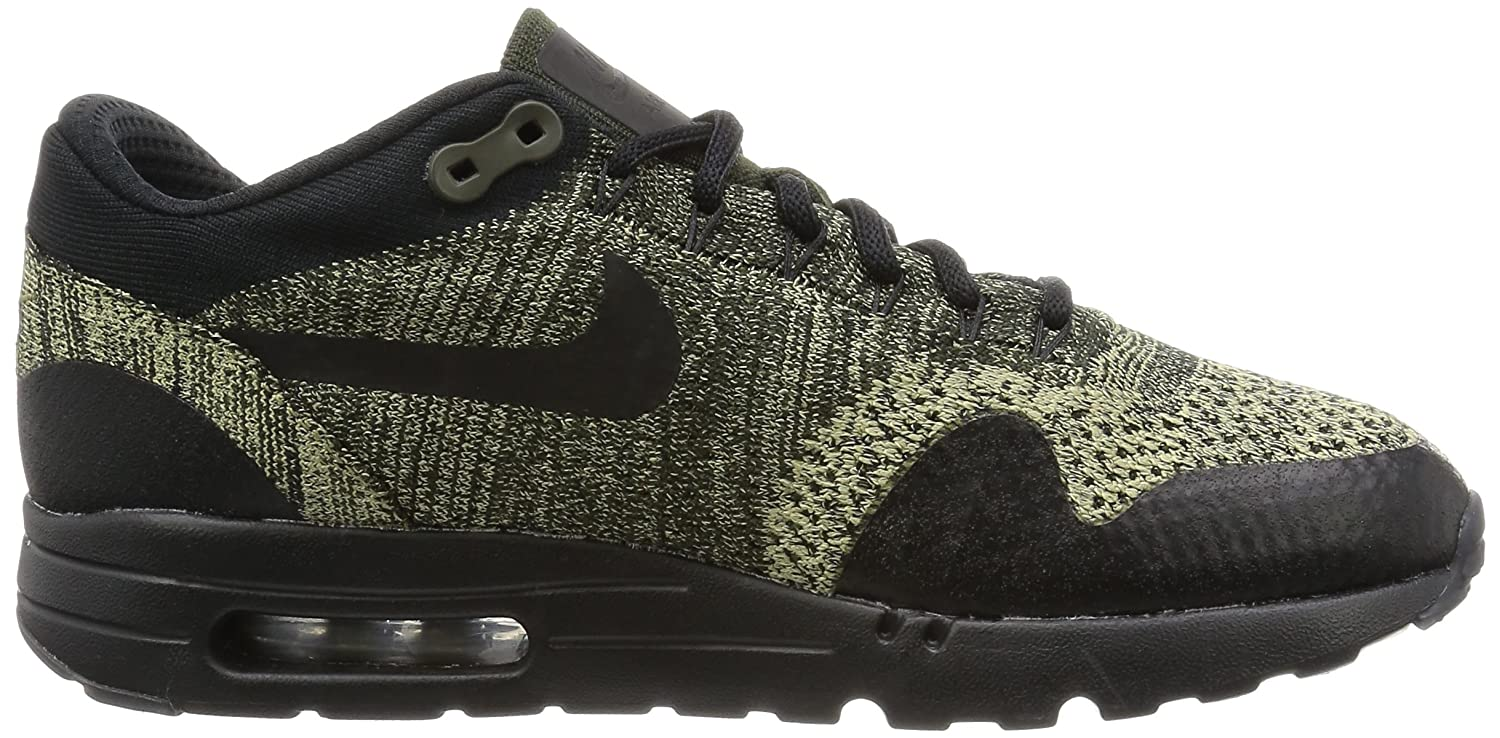 Nike Men's Air Max 1 Ultra Flyknit, BLACK/BLACK-ANTHRACITE B01M1IXSQC 13 D(M) US|Neutral Olive/Black/Sequoia