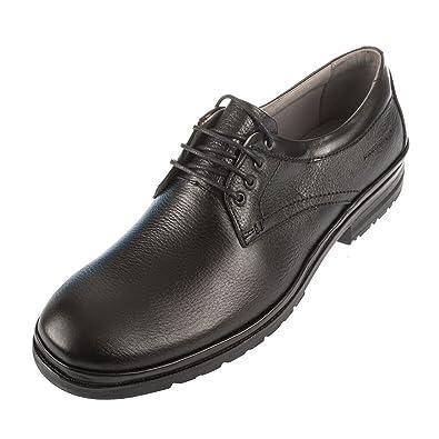 SAPATOTERAPIA - Zapatos de cordones para hombre blank, color negro, talla 46 EU
