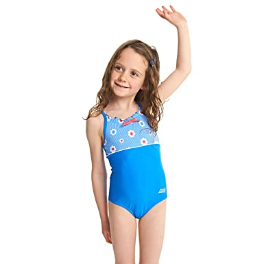 9e1f2536dde Zoggs Girls' Holiday Classicback Swimsuit: Amazon.co.uk: Clothing
