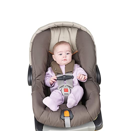 Amazon.com : J is for Jeep Car Seat Strap Covers 2 Pack, Plush Brown