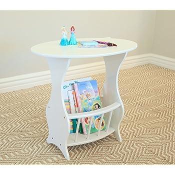 Frenchi Home Furnishing Magazine Table Finish, White