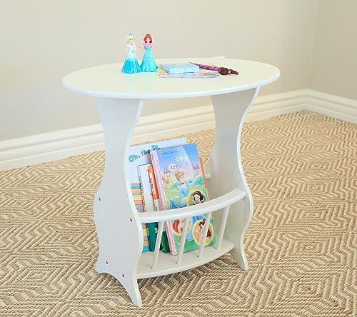 Frenchi Furniture Magazine Table Finish White