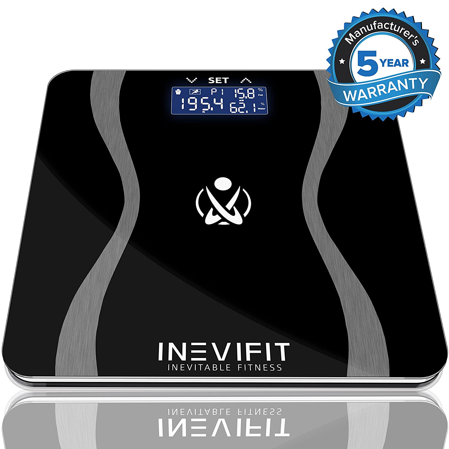 Digital Bathroom Body Composition Analyzer Scales