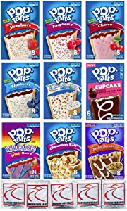 9 Pack! The Fruit Flavored Ultimate Pop Tart Variety Pack 9 Flavors - Bundle of 9 Boxes, 1 Box of Each Flavor
