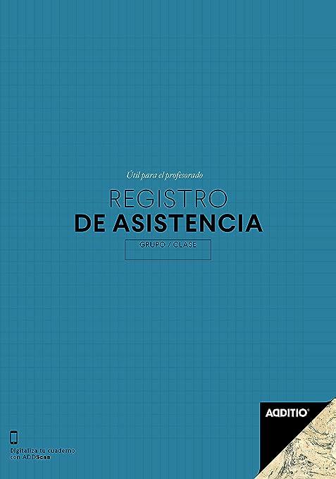 Additio P162 - Registro de Asistencia, color azul