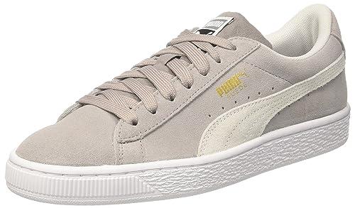 Puma Suede Classic, Zapatillas para Hombre, Gris (Ash-Puma White), 47 EU
