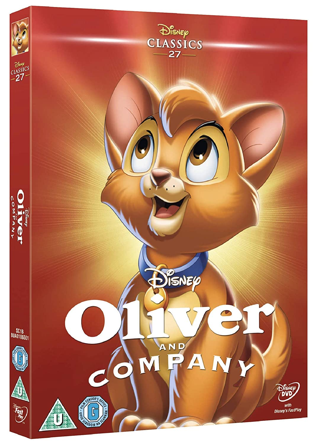 Oliver And Company Uk Import Dvd Blu Ray