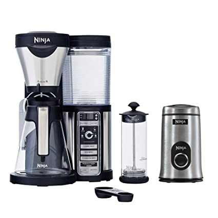 Amazon.com: Ninja CF080 Coffee Bar Auto-IQ 1 Touch Brewer ...