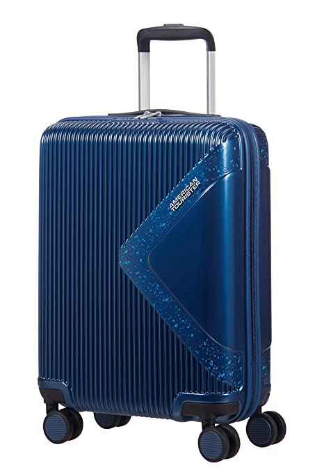 American Tourister - Modern Dream - Spinner Equipaje de mano 55 cm, 35 L, Azul (Skydust)