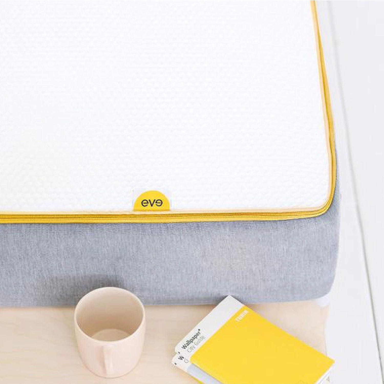 90 x 190 cm eve Sleep Hybrid Spring and Memory Foam Mattress Breathable Which? Best Buy 2019 Mattress 10 Year Warranty Single