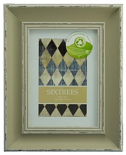 """Sixtrees - Marcos para Retrato Estilo Gastado Shabby Chic para Fotografías de 6""""x4"""""""