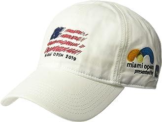 ca265d31d2d Lacoste Men's Sport Miami Open Edition Americana Cap