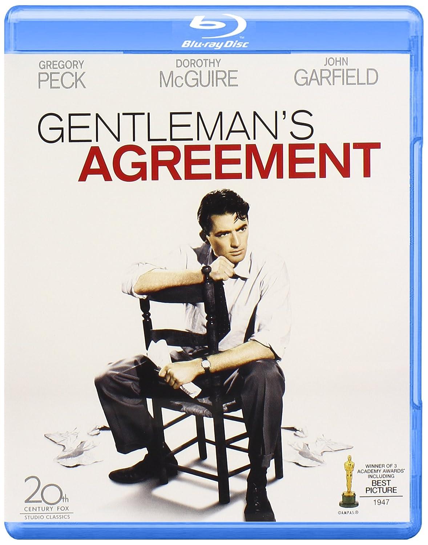 Amazon Gentlemans Agreement Blu Ray John Garfield Gregory