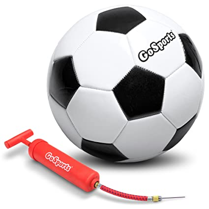 f334ae1a7 Amazon.com : GoSports Classic Soccer Balls with Premium Pump ...
