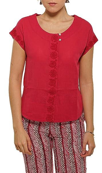 Blusa Divine Rojo Mujer Colección Primavera/Verano