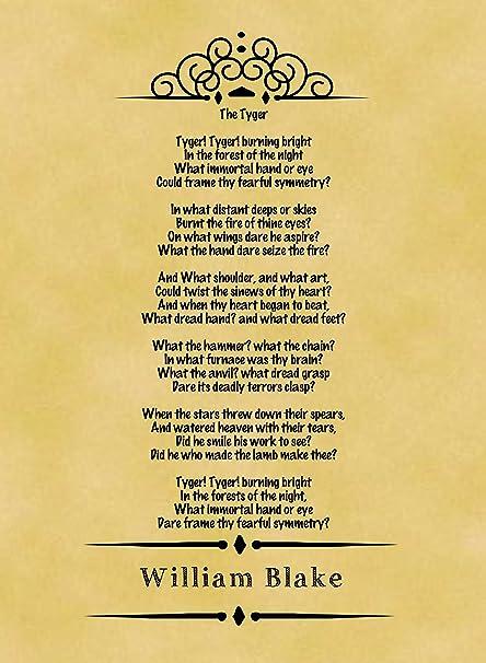 tyger poem by william blake