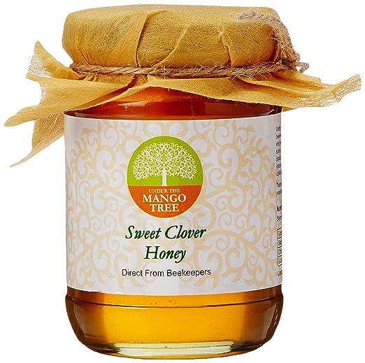 Under the Mango Tree Sweet Clover Honey, 200g Honey at amazon
