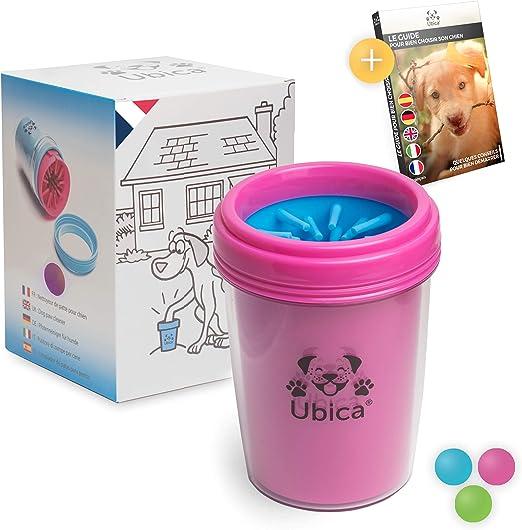 Limpiador de Patas para Perros y Gatos de Ubica - Con suaves cerdas de silicona - Fácil de