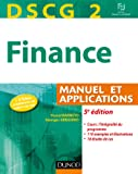 DSCG 2 - Finance - 5e édition - Manuel et applications